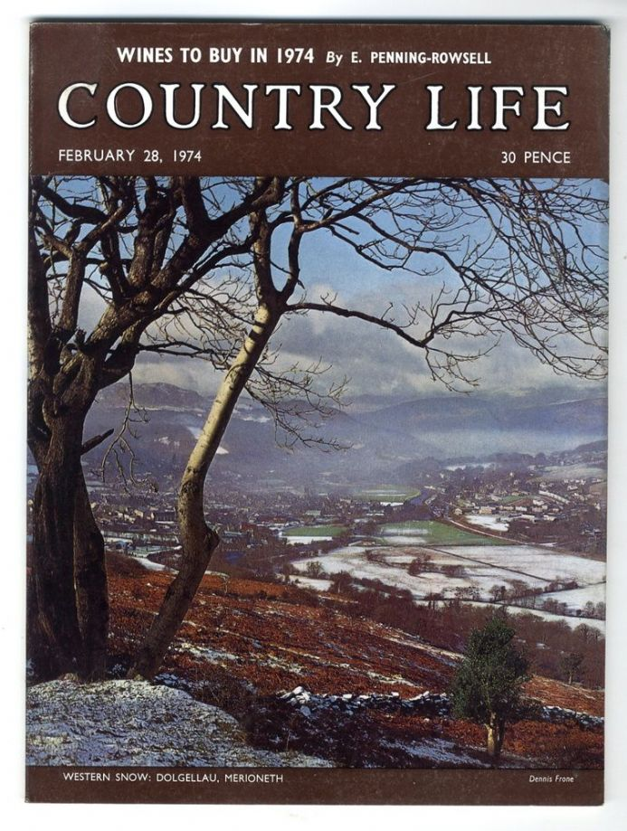 1974 COUNTRY LIFE MAGAZINE 28 February DOLGELLAU HOLT Norfolk NEWBURGH PRIORY